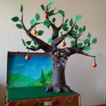 The Giving Tree, puppet, school, arbre, Baum