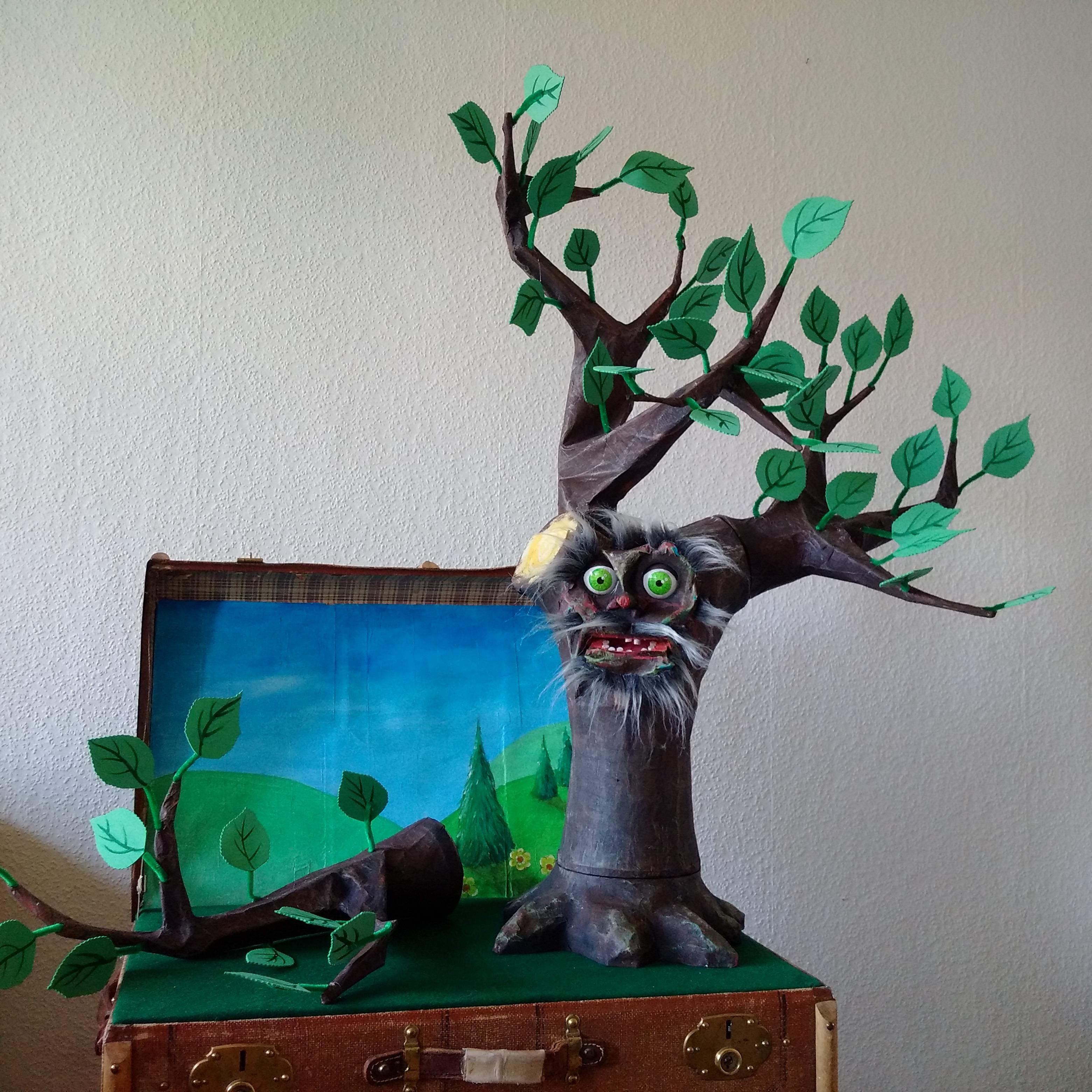Das Großzügige Baum - The Giving Tree, puppet