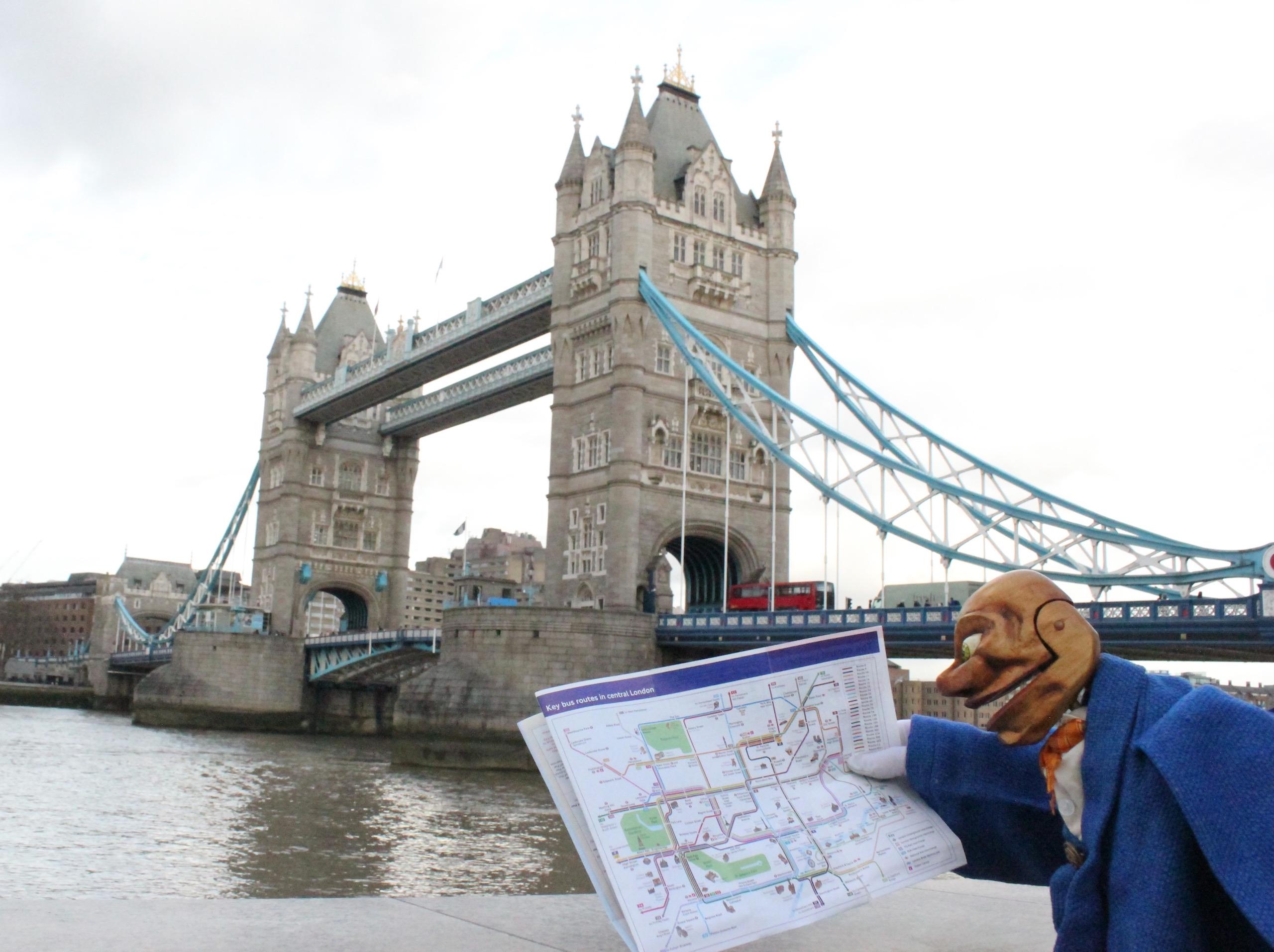 Puppet, marionnette, théâtre, Puppentheater, Igor, london, bridge