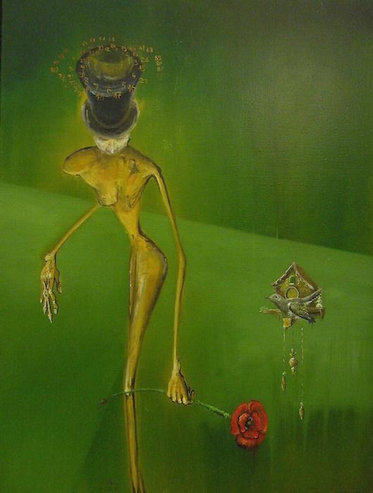 Peinture à l'huile, surréalisme