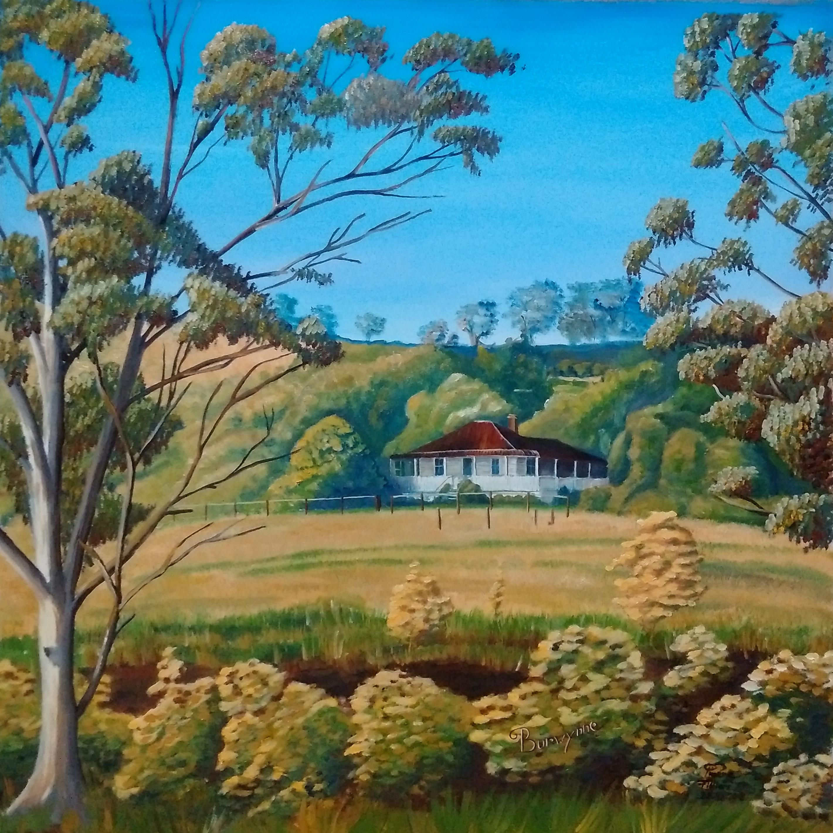 Peinture à l'huile, Paysage, Australia, Landscape