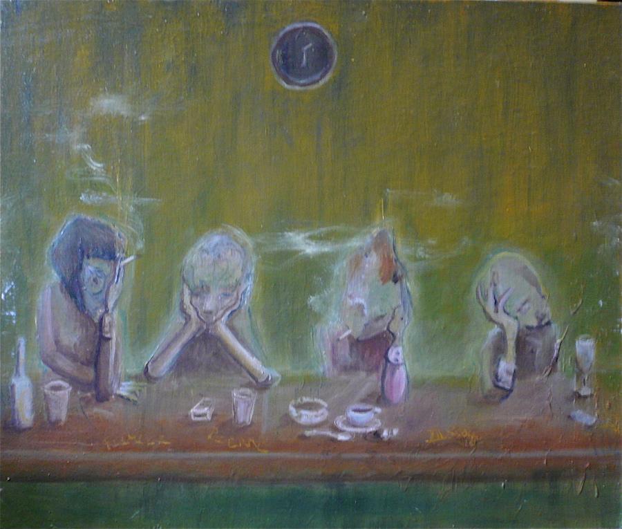 Peinture à l'huile, illustration