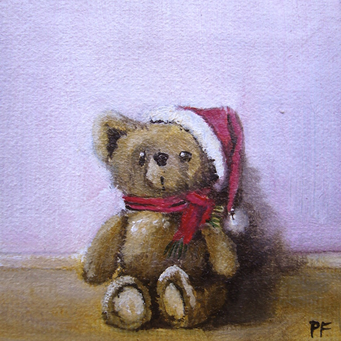 Peinture à l'huile, miniature