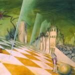 Peinture à l'huile, surréalisme, illustration