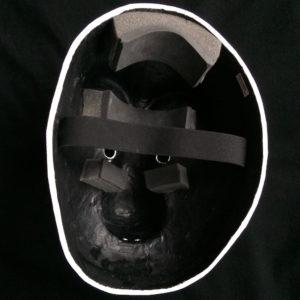 vue de l'intérieur d'un masque larvaire