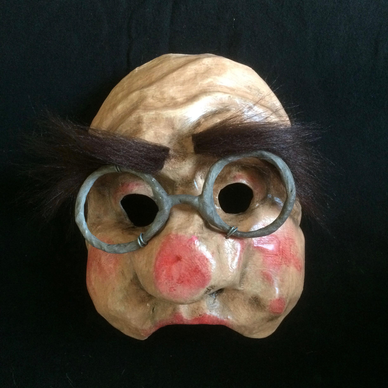 Masque, mask, expressif, paper, mâché, theatre